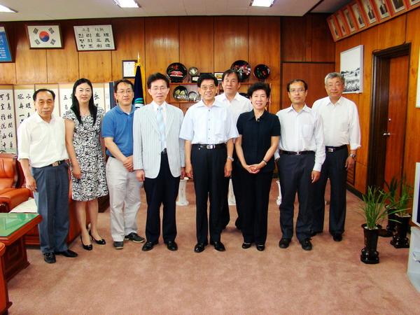 韩国海洋研究院南海研究所和国立济洲大学等海洋研究机构,双方就海洋